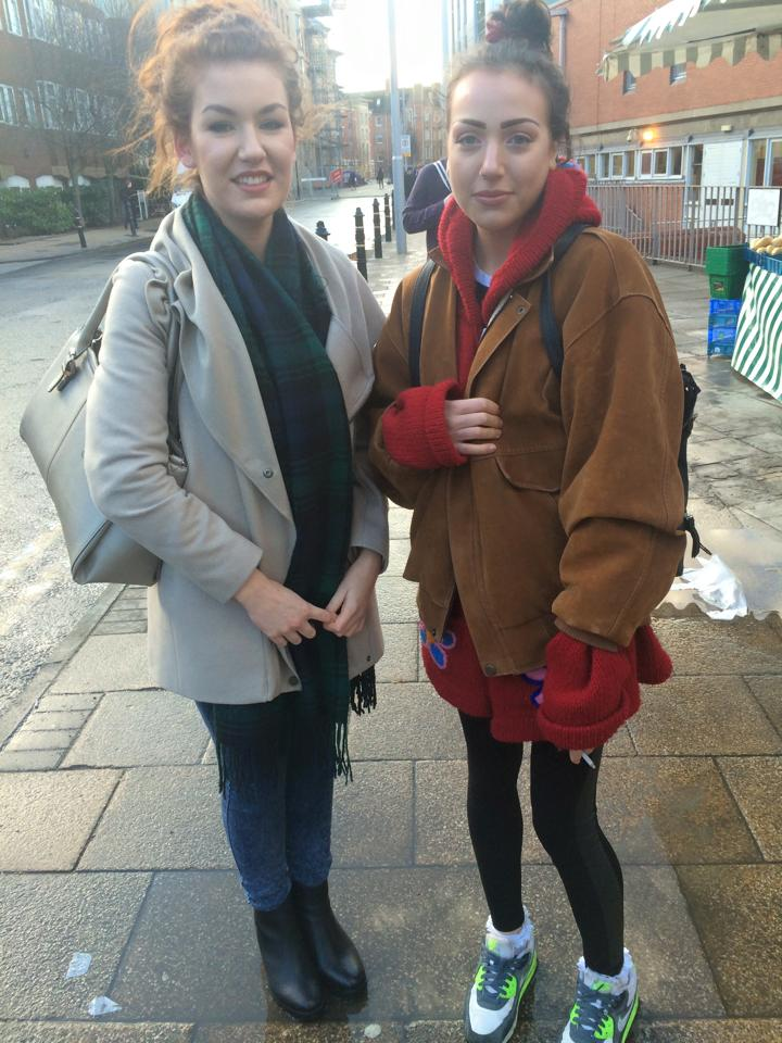 Hannah, Fashion Management and Abbie, Marketing