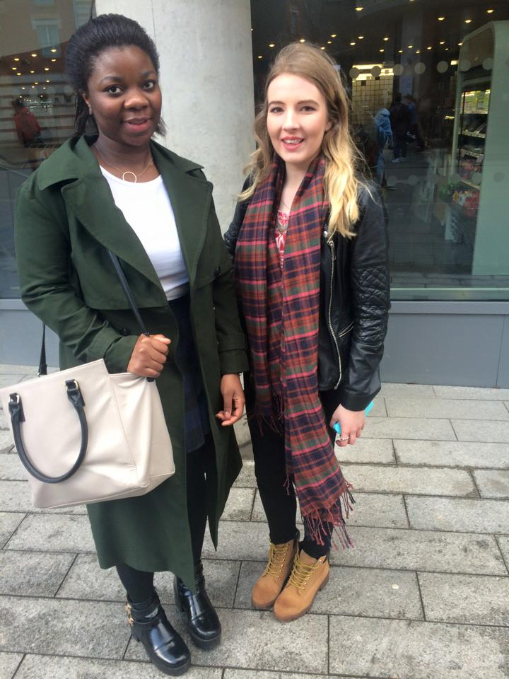 Mary Adebayo and Sophie Fisher- Psychology