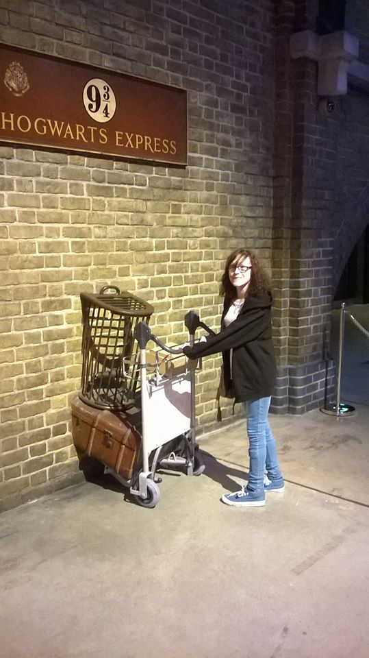 At the Harry Potter Tour in Watford, before coming to Trent