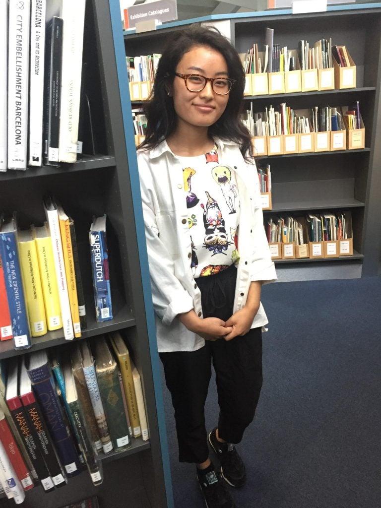 Ningsa Kerung, Fashion Management- First Year. Drawstring trousers from Zara