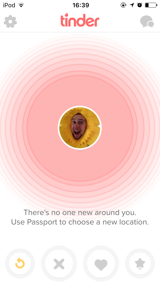 Around new tinder one you no iview