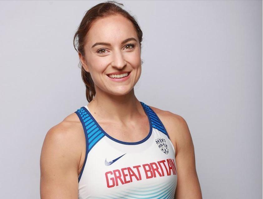 Emily Diamond, silver medal winner