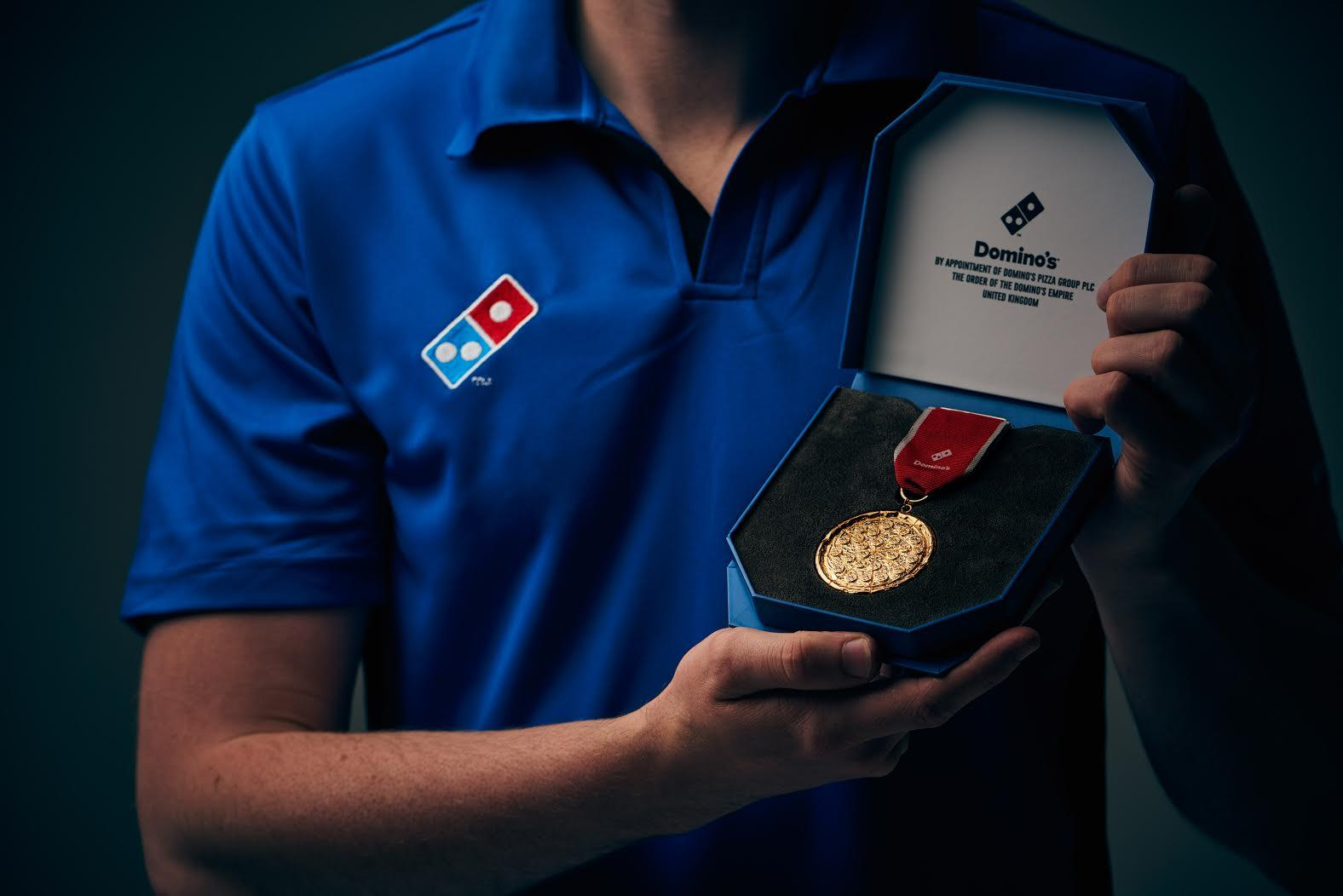 A Loughborough student has been given free Domino's for a year