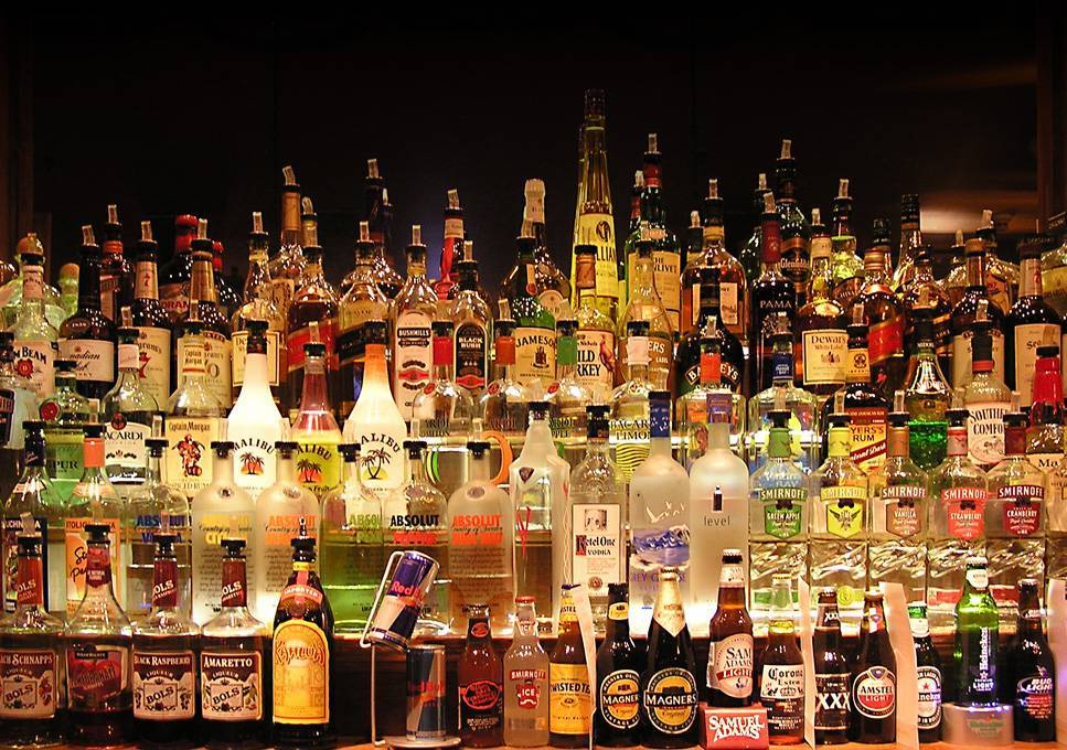 Image result for fully stocked bar