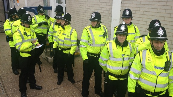 Not this time: Cambridge police have promised an increased presence on Jesus Green this year
