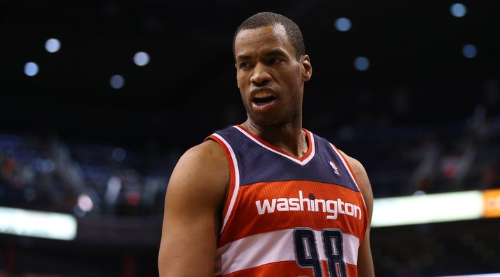 Jason Collins - the first openly gay NBA player