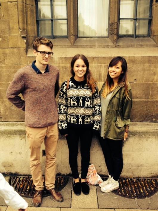 Cambridge Creative Jack, Cambridge Creative groupie (me), Cambridge Creative Eliska