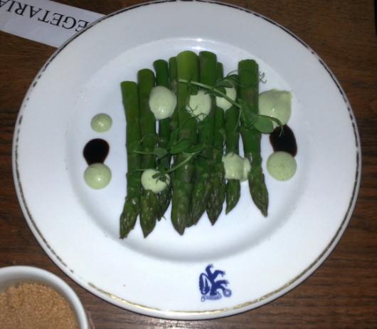 Asparagus à la asparagus