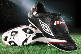These boots aren't made for walking. They're football boots.