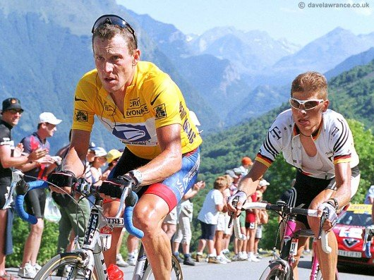 Lance Armstrong - drugs cheat extraordinaire