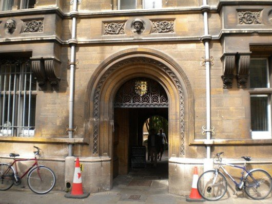 The event occurred in accommodation owned by Caius