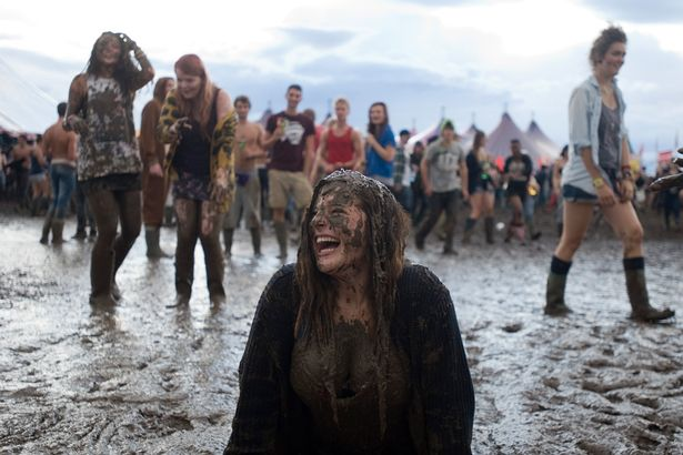 Unlike at Reading, where the only thing you will meet is mud.