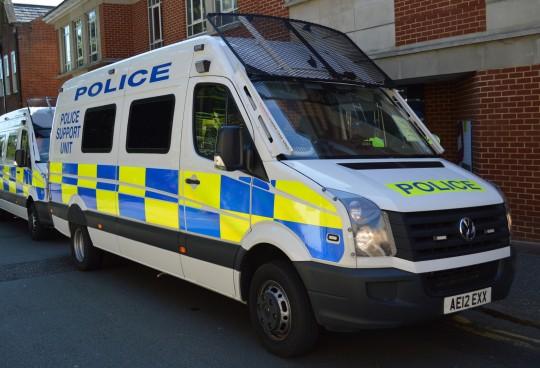 Police have arrested three men on suspicion of sexual assault