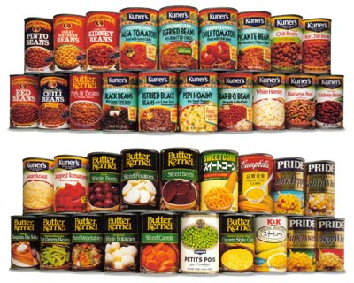 There's no monogamy when it comes to canned food