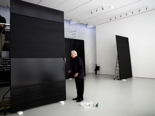 Soulages and his arty black rectangles