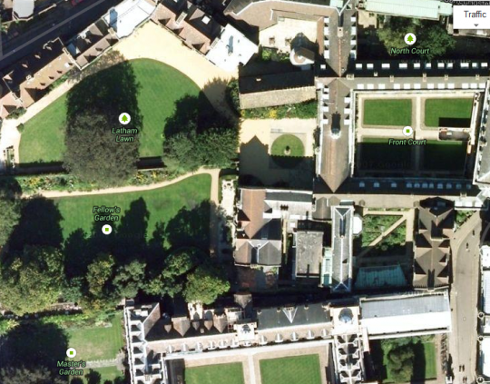Tit Hall from the skies - can 2000 really fit in there?