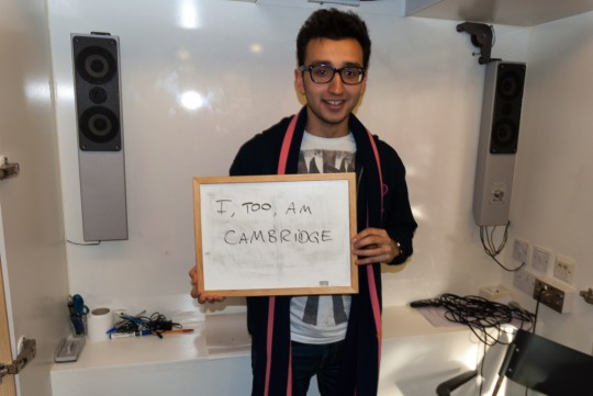 I, Too, Am Cambridge