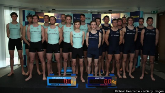 With height and weight, Cambridge are looking good. Getty Images