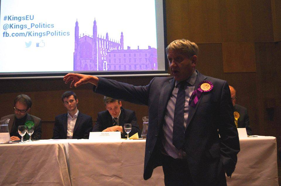 You'll have seen UKIP Pete slobbering over this fine specimen at King's the other week