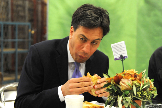 Staying means trusting this man to deliver social equality. Look at him. Just look