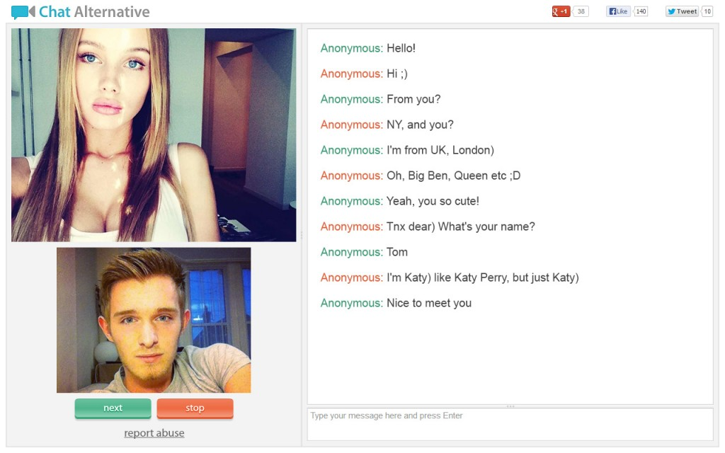 cam sites like chatroulette