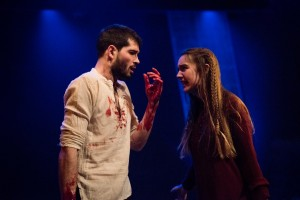 Laura Waldren and Tom Russell as the Macbeths