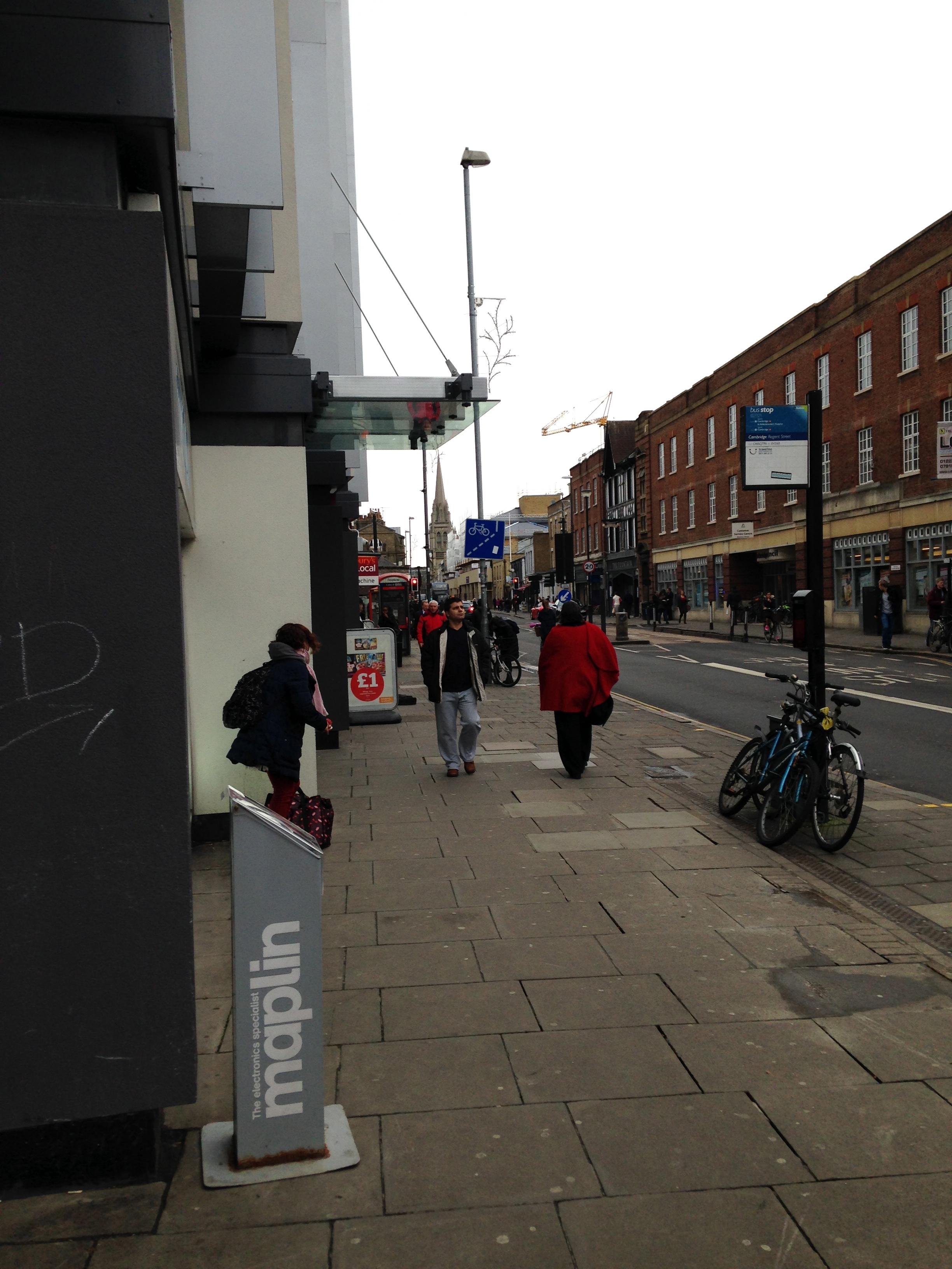 St Andrews Street, where I met Nathan.