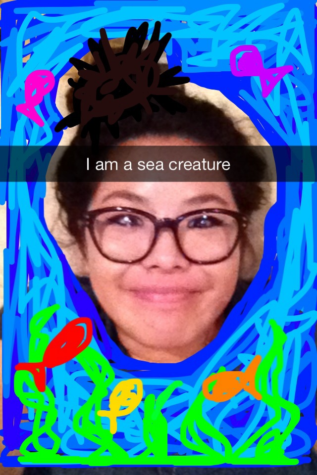sea creature snapchat
