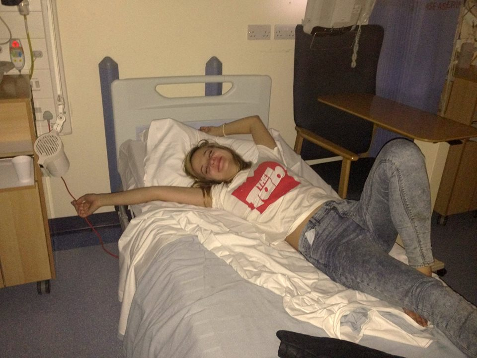 We spend our bloodmoney on booze and end up in hospital on da regs