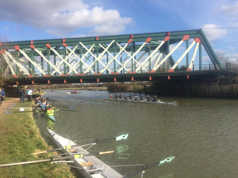 A great day for rowing