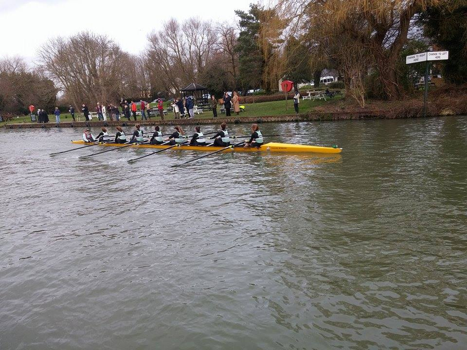 An exciting first day of racing