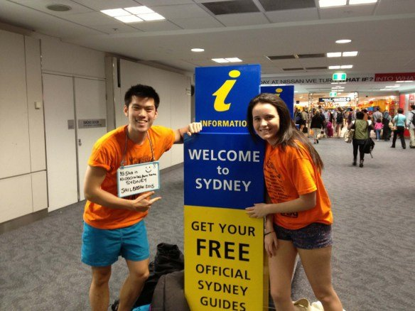 The absolute winners, who made it to Sydney