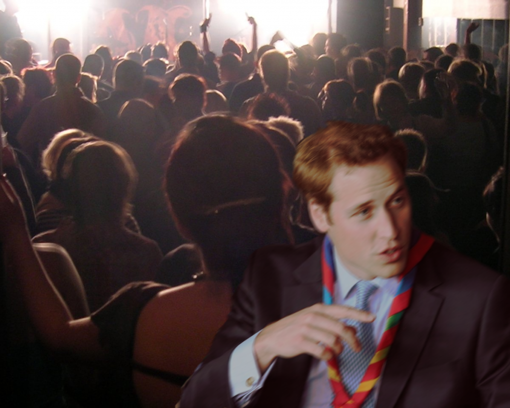 Willy in a Club