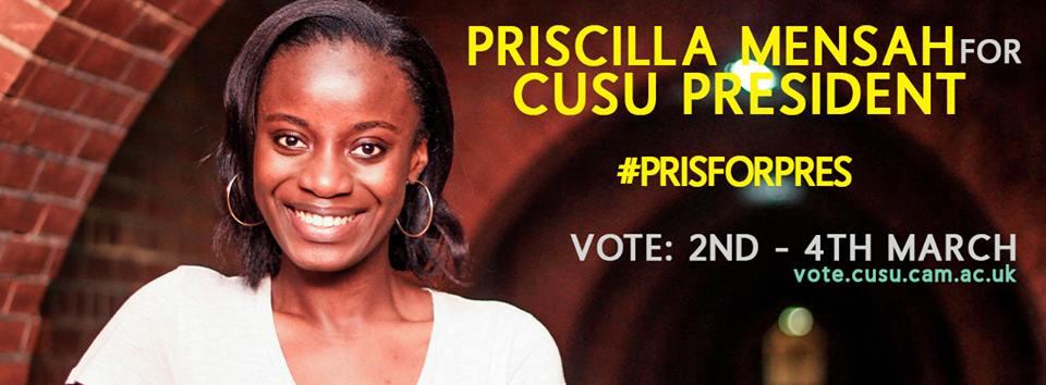 She has a bigger mandate than any CUSU President in years