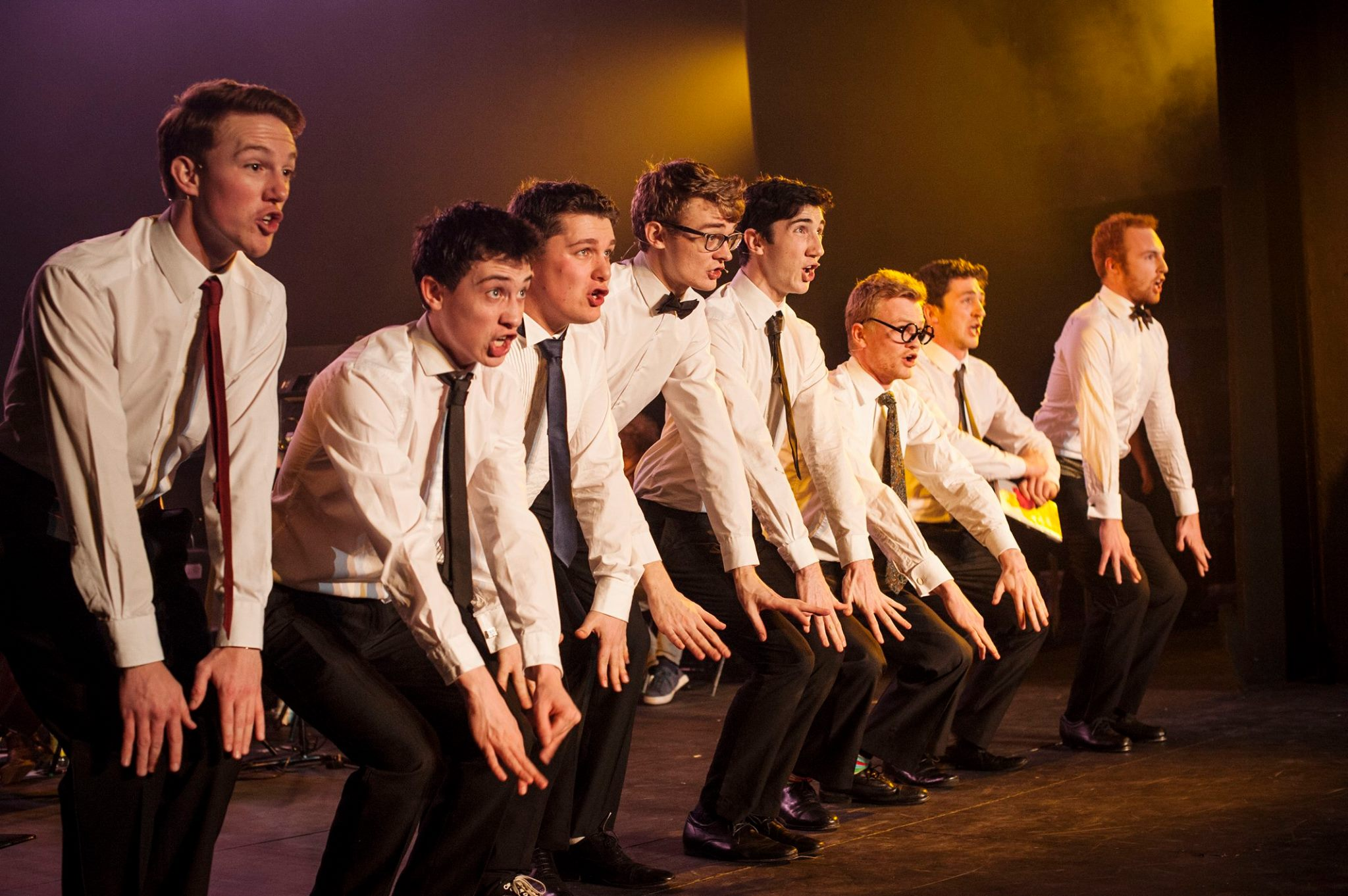 The male chorus consistently put out energetic and engaging performances.