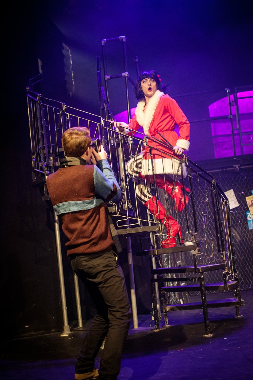 Toby Marlow as Angel. Credit: Johannes Hjorth