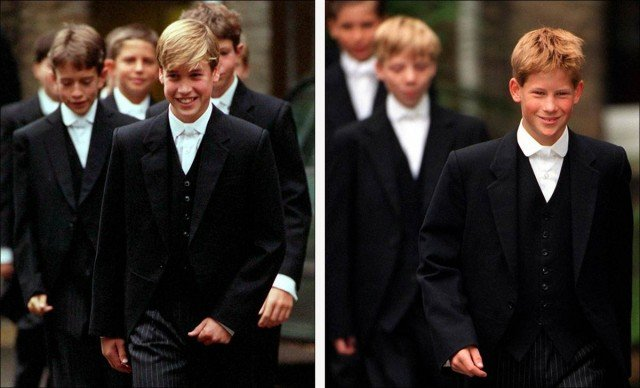 Not everyone went to school with Wills and Harry