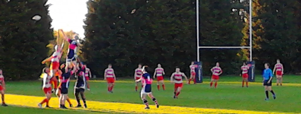 The lineouts were seldom smooth