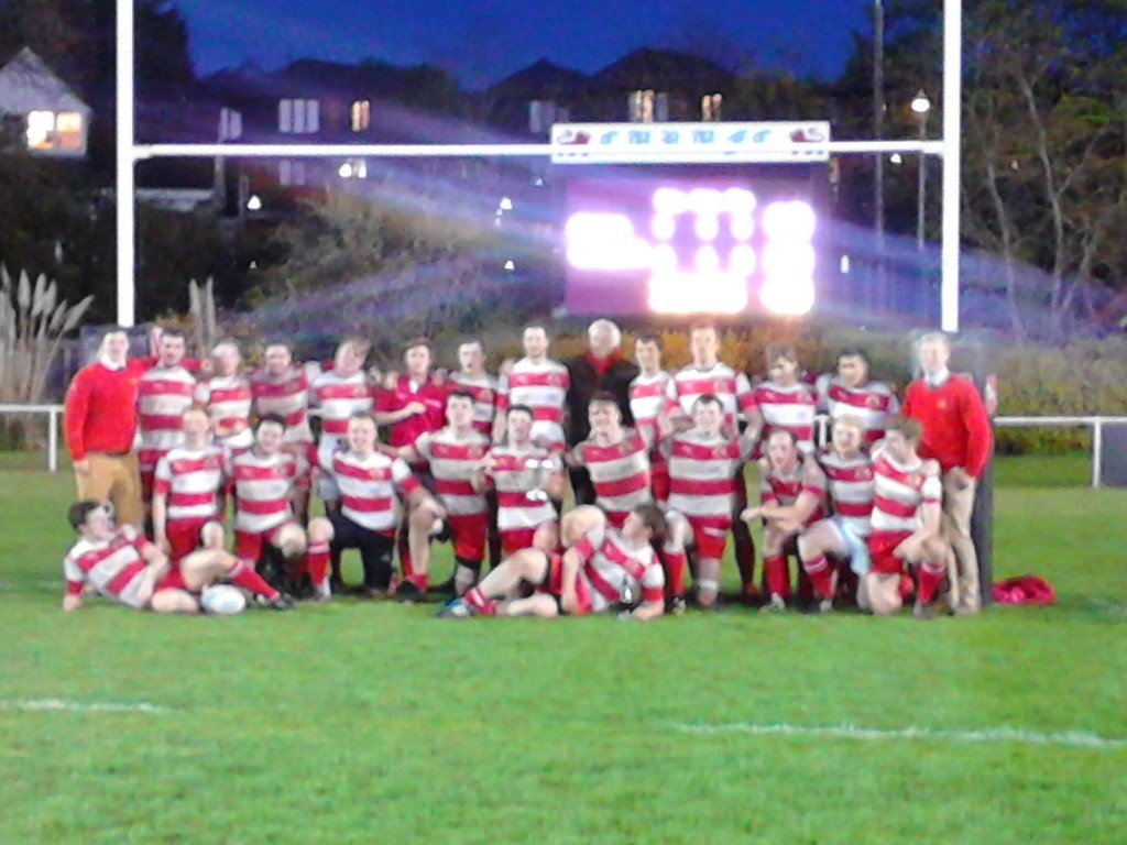 St. John's Rugby Cuppers Champions 2014-15