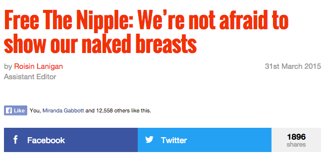 1896 people are loving this article.  And its tits.