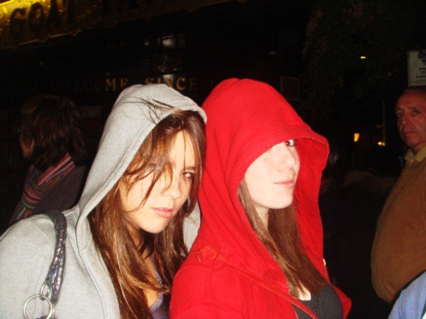 2007: the year of loitering in parks wearing kewl American Apparel hoodies, and poking each other
