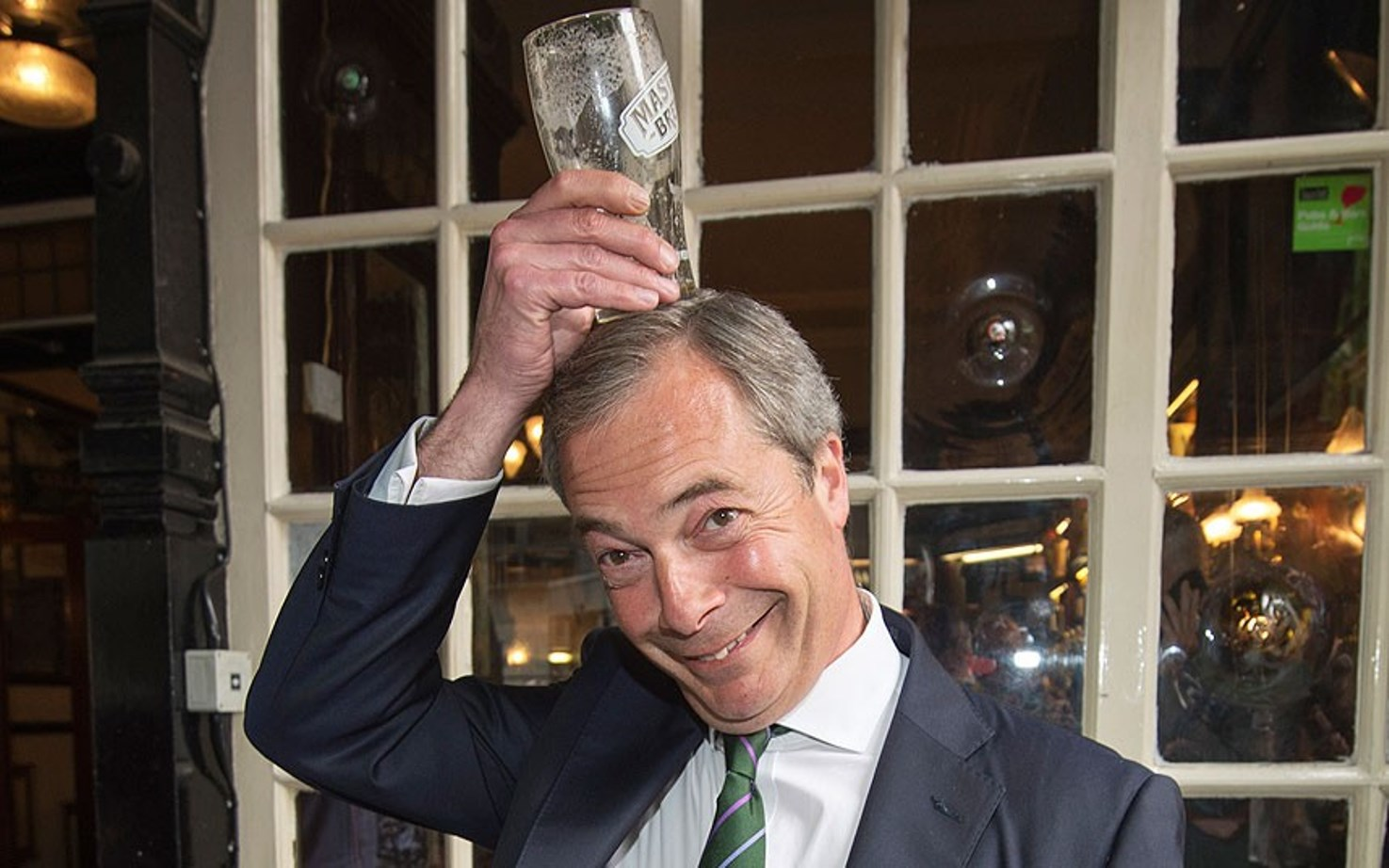 Nigel's just one of the lads deep down