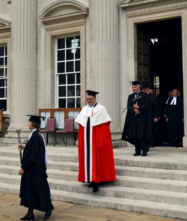 leszek graduation chancellor