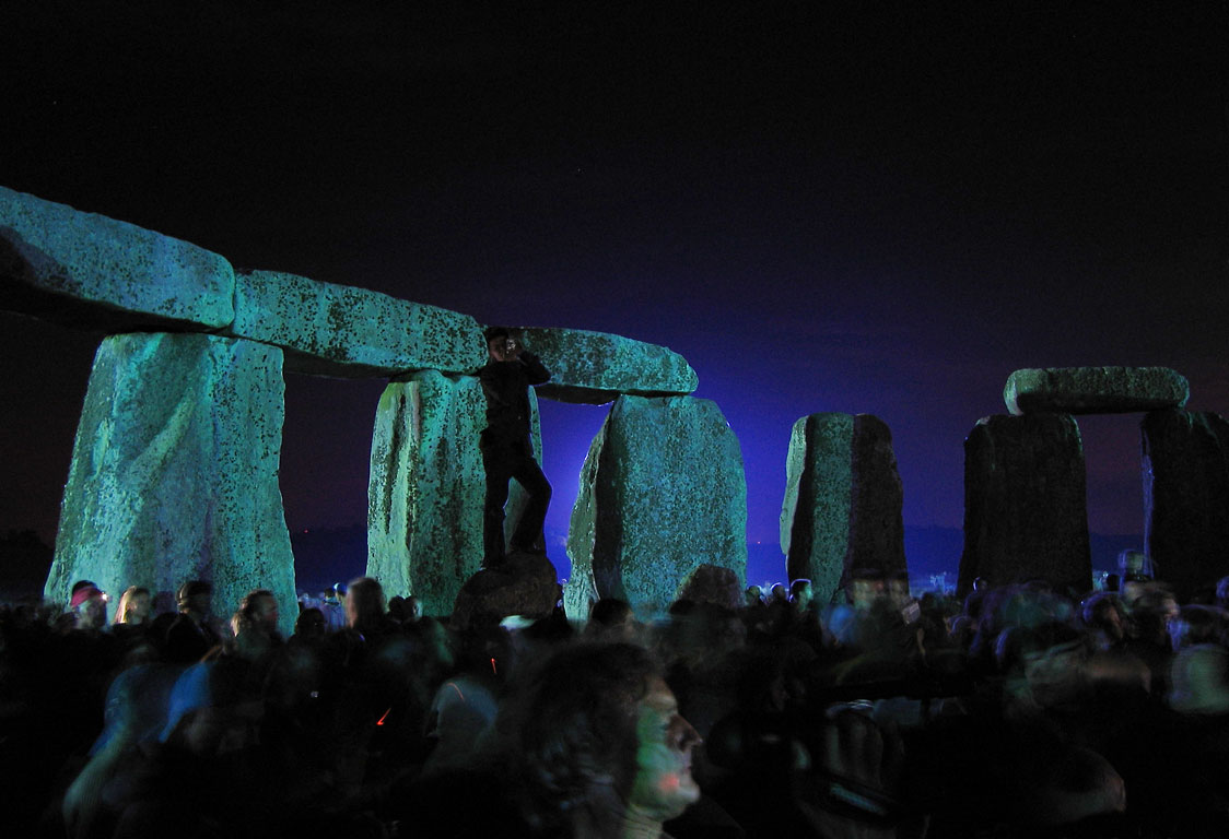 Find your soul at a rave in stonehenge