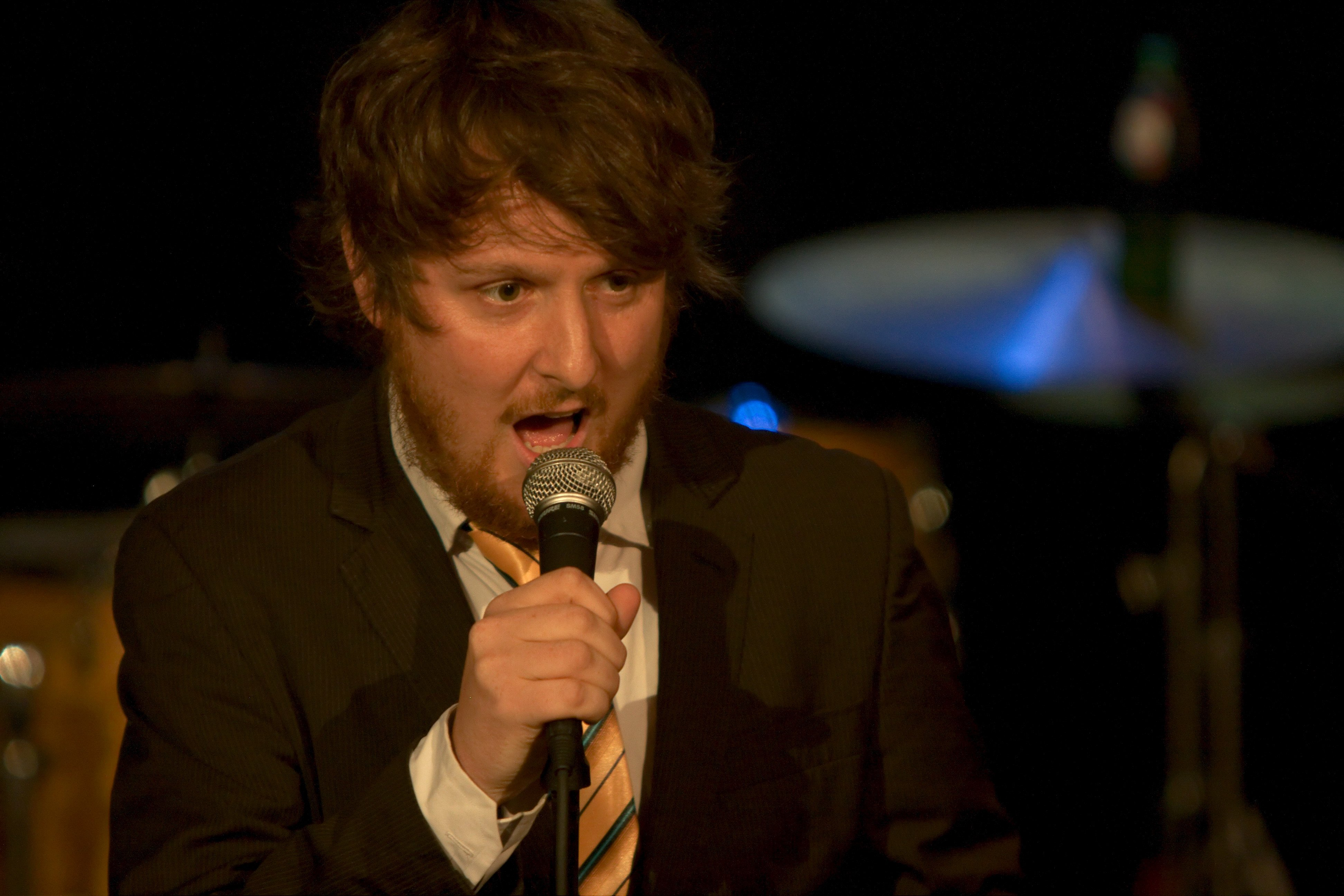 Tim Key of the Horne Section (led by Alex Horne, an ex-Footlight)
