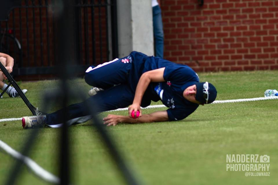 The fielding was of a high standard throughout the day