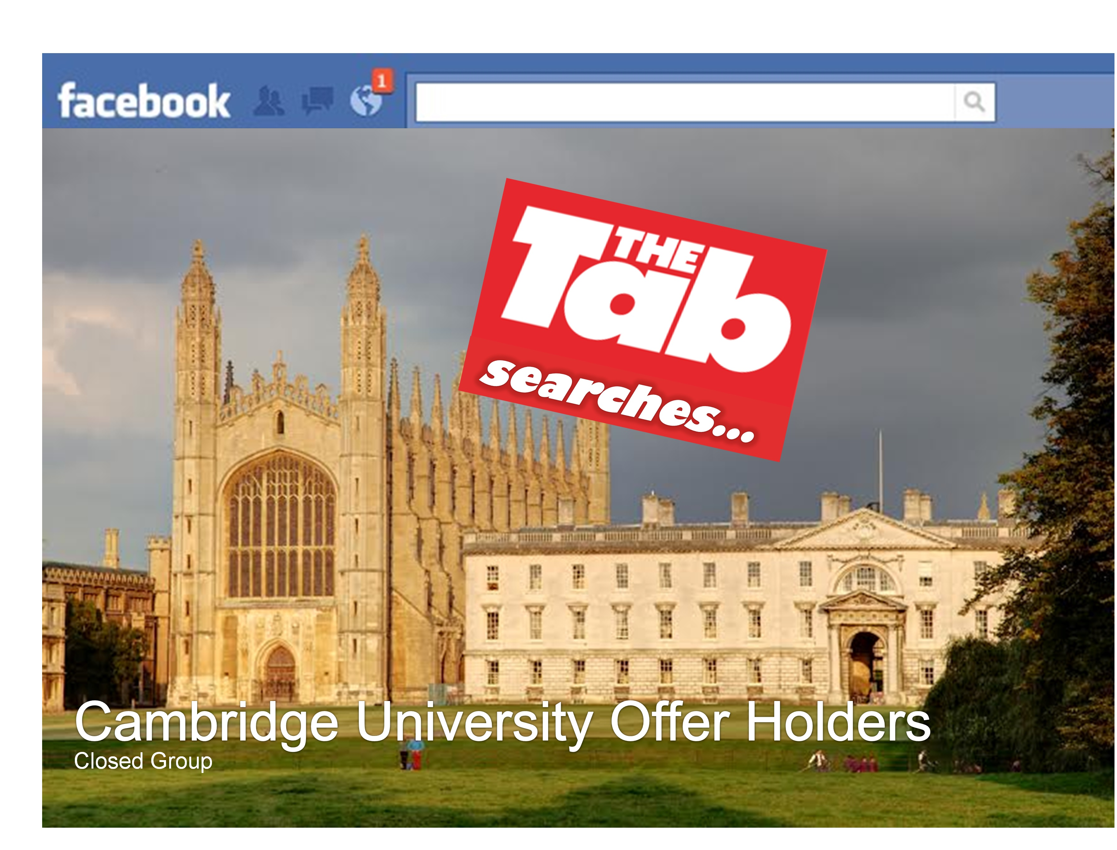 The best of the Cambridge offer holders' group - University