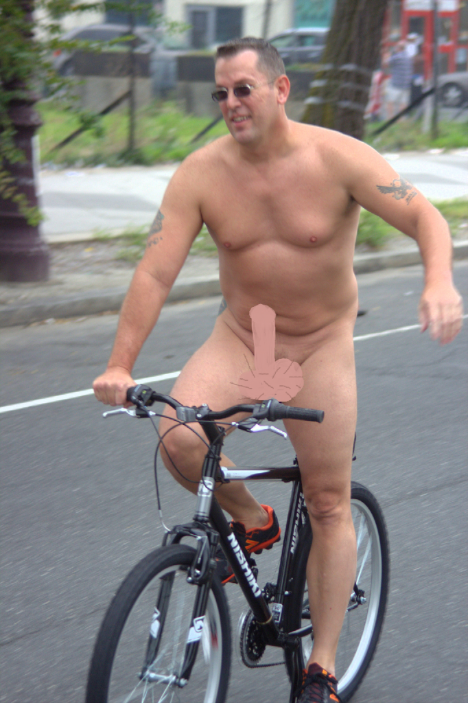 tab - aroused cyclist