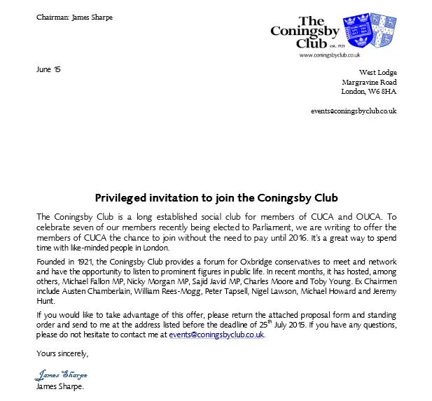 tab - cuca & coningsby club