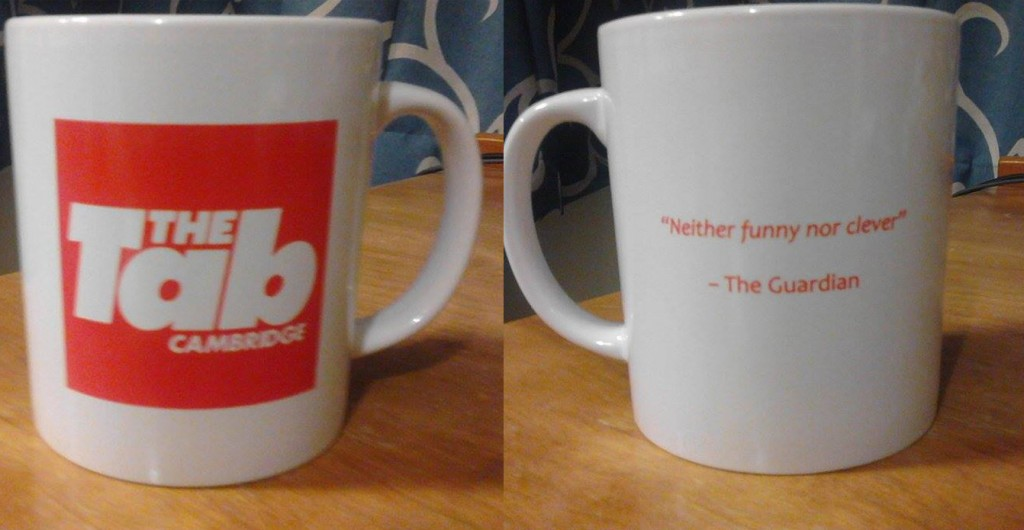 Surely a Tab mug